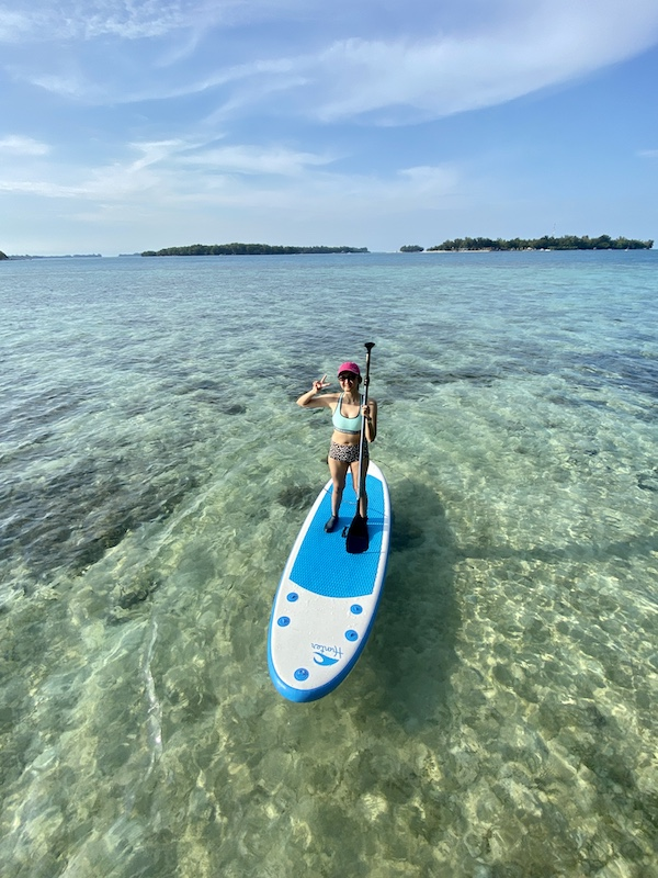 Paddle Boarding Pulau Macan Indonesia A-Z